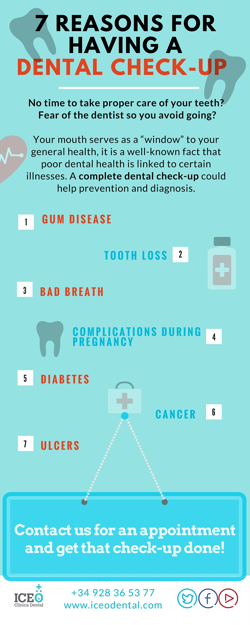 ICEO.INFOGRAPHIC.Reasons for having a dental check-up