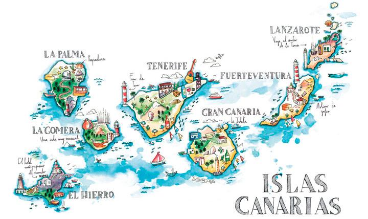 Islas Canarias, destino de salud